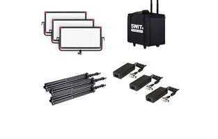 SWIT PL-E90D 3KIT 3xPL-E90D + Case and stands