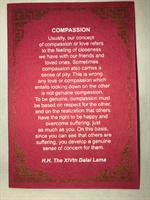 Compassion, Dalai Lama