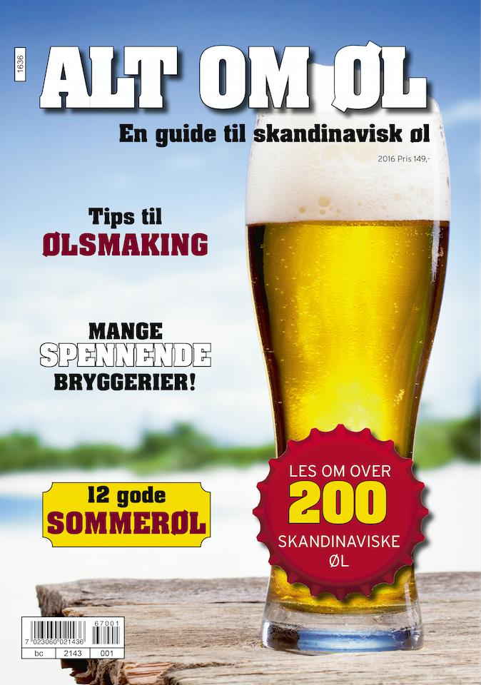 "Bokasinet ""Alt om øl"" lanseres"