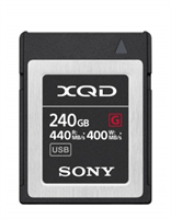 SONY XQD High Speed 5x Stronger 240GB