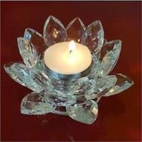 Ljushållare Kristall Lotus 4,5x11cm