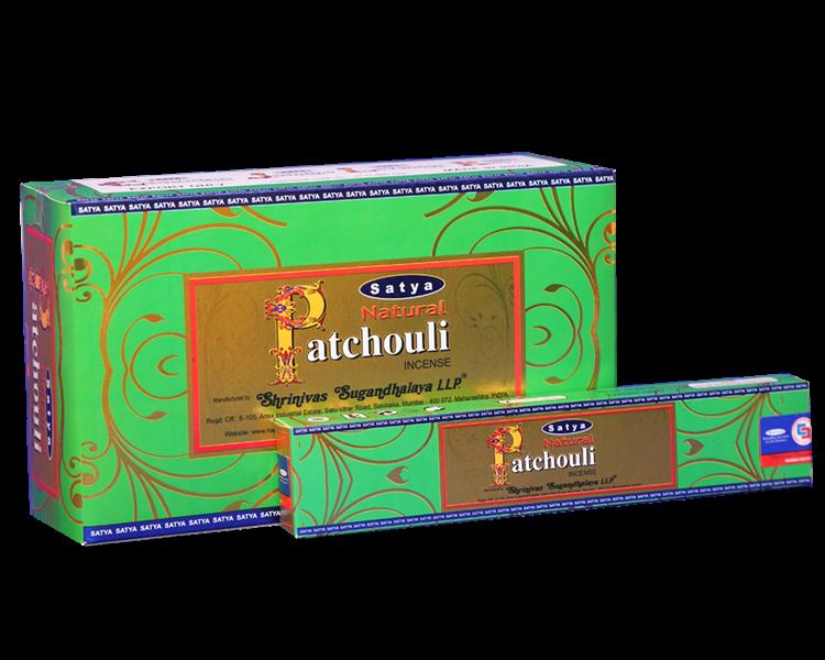 Natural Pathouli  Satya rökelse