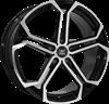 SOLEIL LXS-1 BLACK POLISH 8,5X20 5X112 ET42