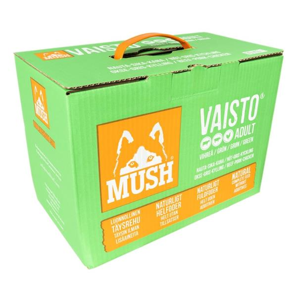 Mush Vaisto Grønn 10kg