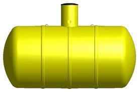 Sméplast sluten tank R1-5000