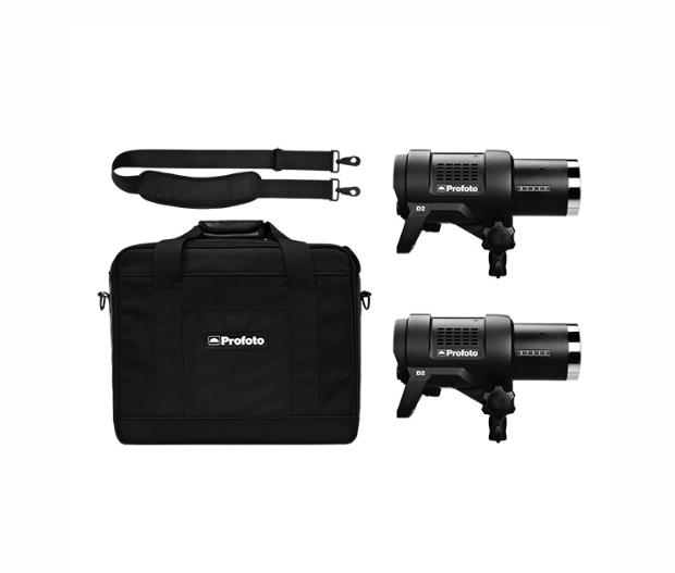 Profoto D2 2head 500/500 kit with bag S Plus