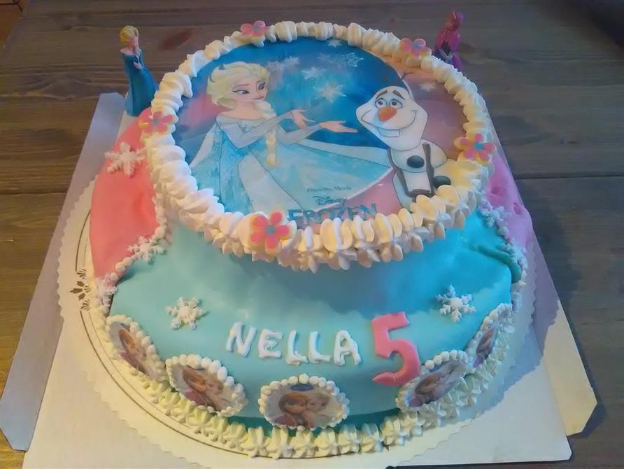 Frozen kakku pikku prinsessalle