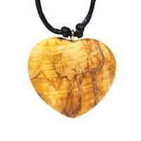 Halsband Palo Santo Hjärta 4cm