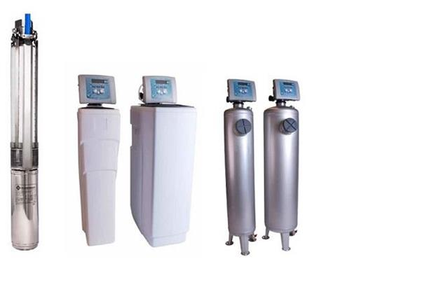 Vi hjälper dig att installera pump och eventuella filter till ditt vatten