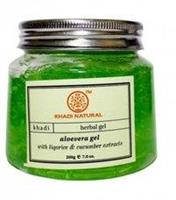 Natural Aloevera Gel Liqorice & Cucumber 200gr