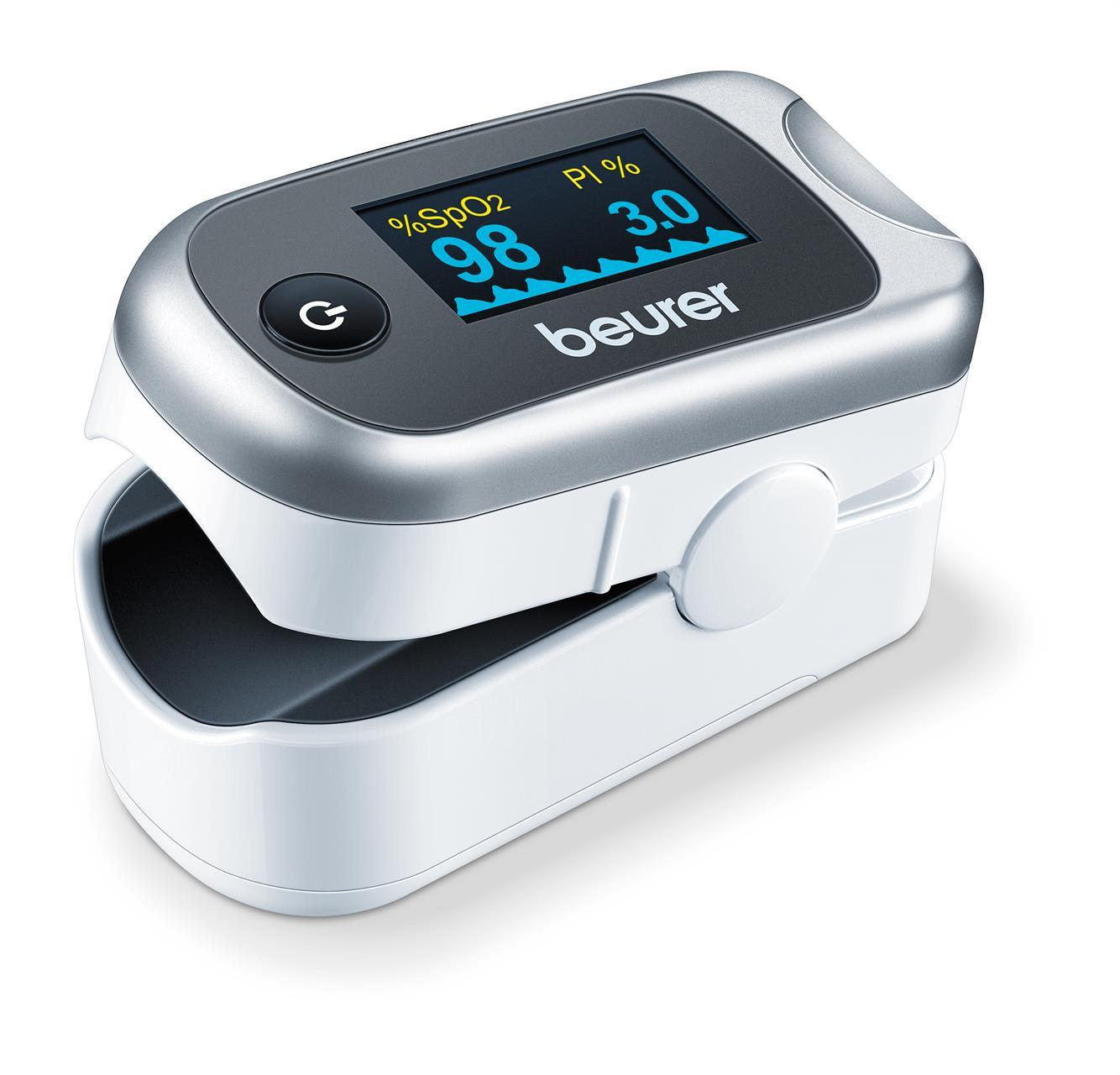 Mäta syresättning i blodet med Pulsoximeter