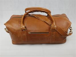 Indezi Weekendbag lys brun