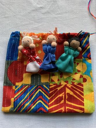 WORRY RELEASE DOLL BAG NR 3 -  FRONTSIDE