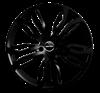 GMP DYNAMIK  21X10 Shiny Black