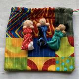 WORRY RELEASE DOLL BAG NR 1 - FRONTSIDE