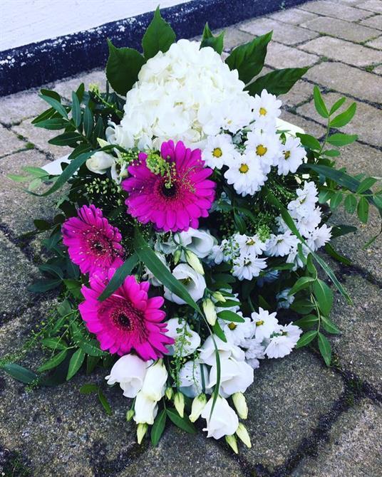 Begravnings bukett