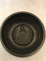 Sjungande skål Buddha ca 13x6 cm