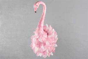 Flamingo till att hänga väggen.
