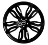 GMP DYNAMIK  21X11,5 Shiny Black