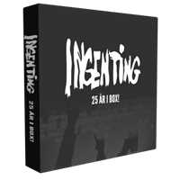 Ingenting-25 År i Box! (9CD+DVD)