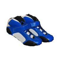 Sko blå/hvit Velg Størrelse