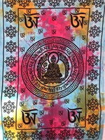 Buddha enkel turkos