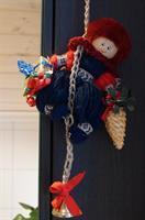 Tomte vägg- dörrdekoration