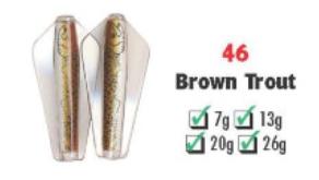 Tasmanian Devil #46 Brown Trout 13.5 gram