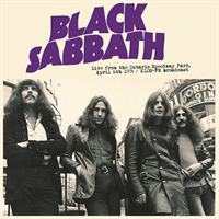 Black Sabbath-Live From The Ontario Speedway Park