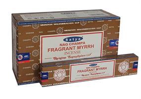 Fragrant Myrrh  Satya rökelse