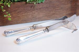Franska liljan smörknivar