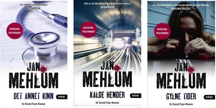 Jan Mehlum i ny drakt - 3 bøker på lager