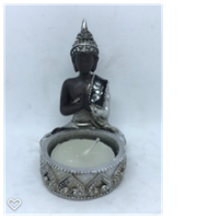Liten Budda ljushållare 8 cm