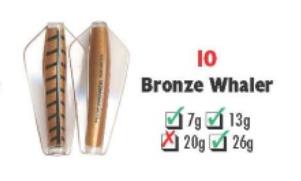 Tasmanian Devil #10 Bronze Whaler 26 gram