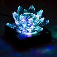 Ljushållare Kristall Lotus 3x8cm