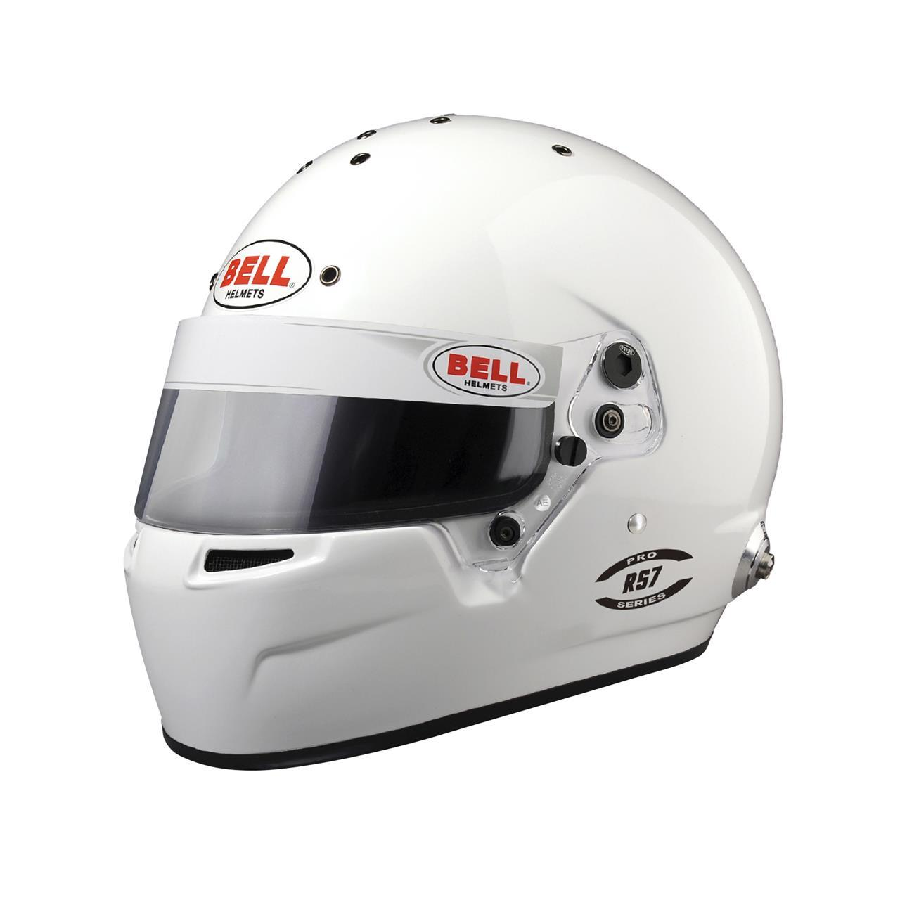 Bell RS7 White  (Hans) 58