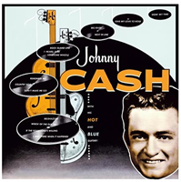Johnny Cash-Johnny Cash with his hot & blue gu