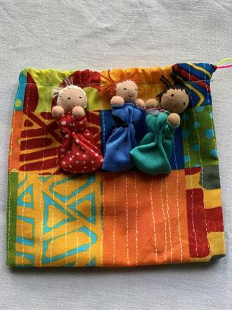 WORRY RELEASE DOLL BAG NR 2 -  FRONTSIDE