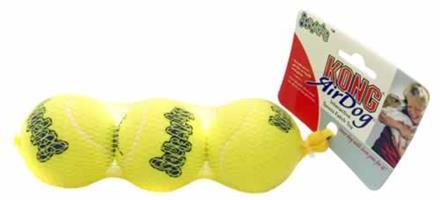 Kong Air Squeeker Tennisboll 3-pack 3 stl