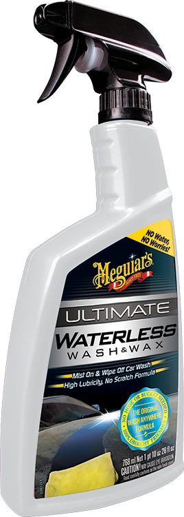 Ultimate Waterless Wash & Wax Anywhere