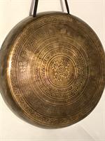 Handgong Flat Sanskrit 10´