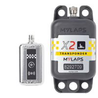 Transponder Mylaps X2  2Års Pakke, Direckt power