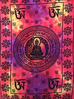 Buddha enkel orange