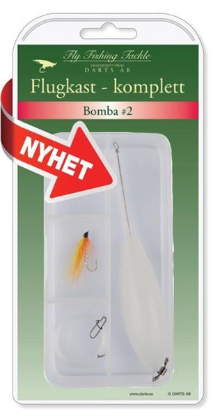 Fluedupp komplett: Bomba #2