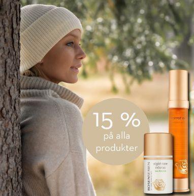 15% rabatt på Rosenserien & Sweden Eco