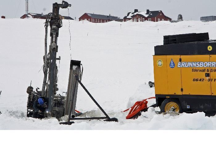 Vattenborrning till STF Blåhammaren