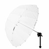 Umbrella Deep Translucent S (85cm/33