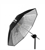 Umbrella Shallow Silver S (85cm/33