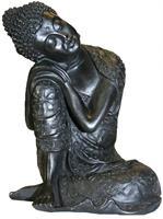 Sittande Buddha 22 cm Resin