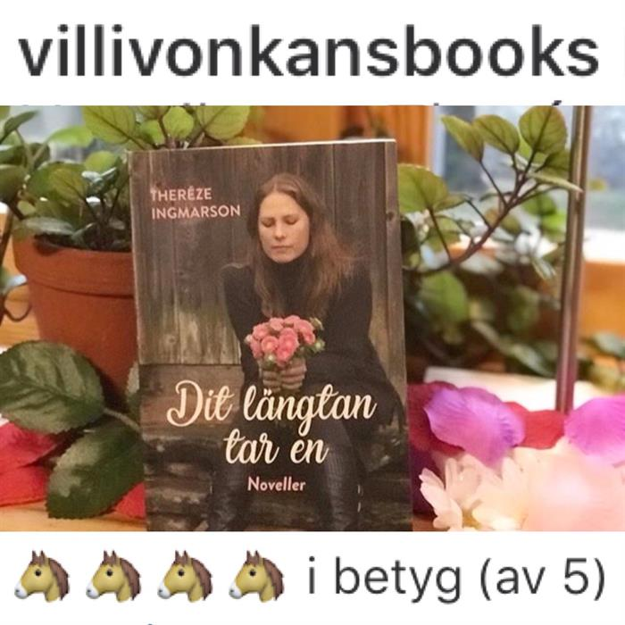 """Villivonkanbooks om """"Dit längtan tar en"""""""